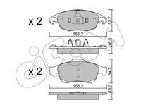 CIFAM  Piduriklotsi komplekt, ketaspidur 822-800-0