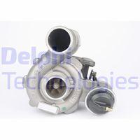 DELPHI  Kompressor, ülelaadimine HRX135