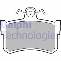 DELPHI  Piduriklotsi komplekt, ketaspidur LP880