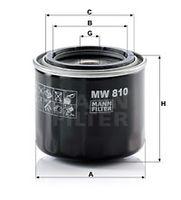 MANN-FILTER  Õlifilter MW 810