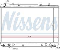 NISSENS  Radiaator, mootorijahutus 61640