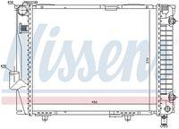 NISSENS  Radiaator, mootorijahutus 62711