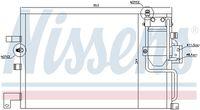NISSENS  Kondensaator, kliimaseade 94504
