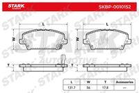 Stark  Piduriklotsi komplekt, ketaspidur SKBP-0010152