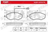 Stark  Piduriklotsi komplekt, ketaspidur SKBP-0010276