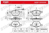 Stark  Piduriklotsi komplekt, ketaspidur SKBP-0010309