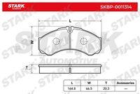 Stark  Piduriklotsi komplekt, ketaspidur SKBP-0011314