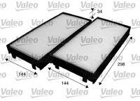 Filter, salongiõhk VALEO ESSENTIAL 715583