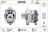Generaator VALEO RE-GEN REMANUFACTURED 14V 436706