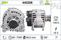 Generaator VALEO RE-GEN REMANUFACTURED 14V 440208
