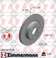 ZIMMERMANN  Piduriketas COAT Z 400.3677.20